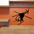 Flying Cayuse Helicopter Decal