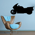 Simple Sport Touring Bike Decal