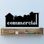 Commercial Wall Decal - Vinyl Decal - Car Decal - Business Sign - MC487