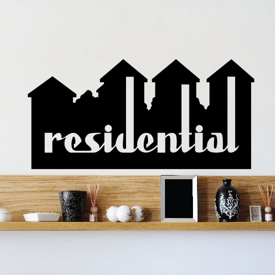 Residential Wall Decal - Vinyl Decal - Car Decal - Business Sign - MC497