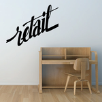 Retail Wall Decal - Vinyl Decal - Car Decal - Business Sign - MC498