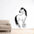 Looking American Quarter Horse Decal