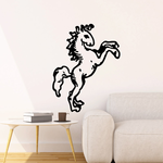 Ancient Art Style Horse Decal
