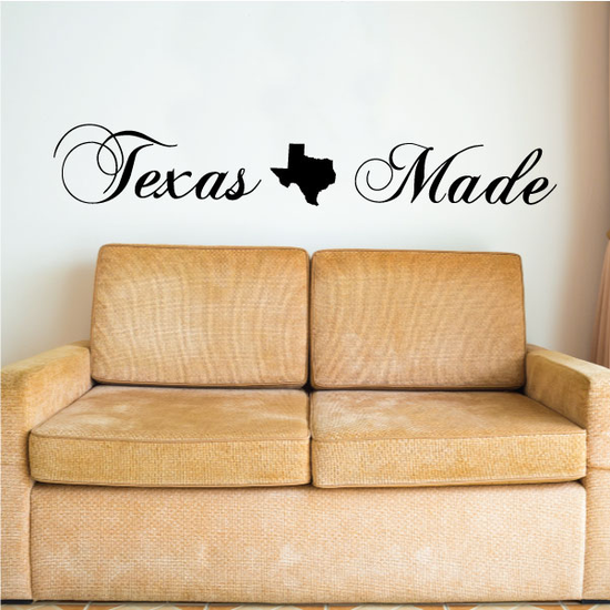 Texas Made Decal