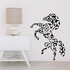 Abstract Fractal Horse Decal