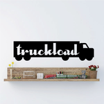 Truckload Wall Decal - Vinyl Decal - Car Decal - Business Sign - MC505