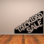 Truckload Sale Wall Decal - Vinyl Decal - Car Decal - Business Sign - MC506