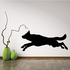 Leaping Wolf Decal