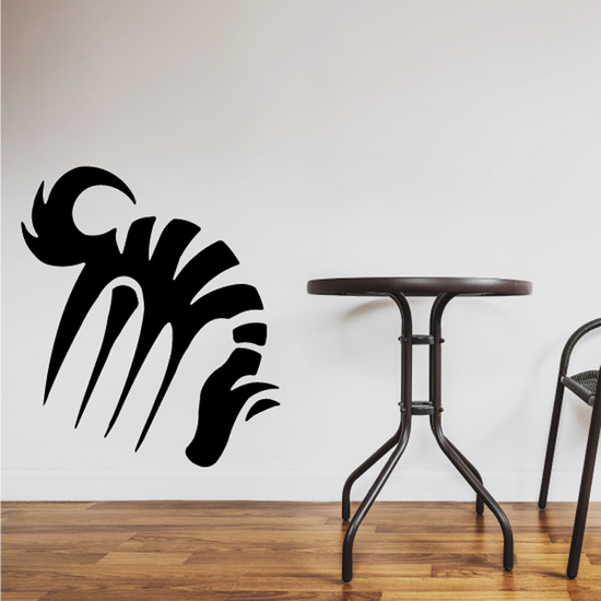 Abstract Grazing Horse Decal