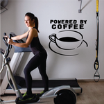 Powered By Coffee Decal