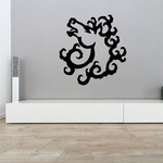 Fractal Horse Head Design Decal