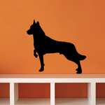 Posed Wolf Decal