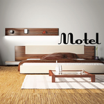 Motel Wall Decal - Vinyl Decal - Car Decal - Business Sign - MC523