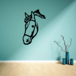 Smart Bridle Horse Head Decal