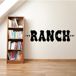 Ranch Wall Decal - Vinyl Decal - Car Decal - Business Sign - MC526