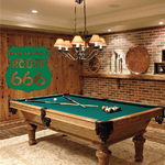 Historic Route 666 Decal