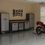 Bad Boyz Drive BaDD ASS Toyz Decal