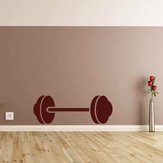 Barbell Weight Decal