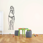 Direct Forward Horse Decal
