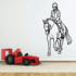 Equestrian Rider and Horse Decal