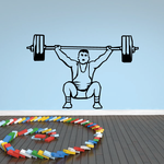 Bodybuilder Decal