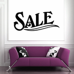 Sale Wall Decal - Vinyl Decal - Car Decal - Business Sign - MC554