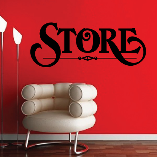 Store Wall Decal - Vinyl Decal - Car Decal - Business Sign - MC557