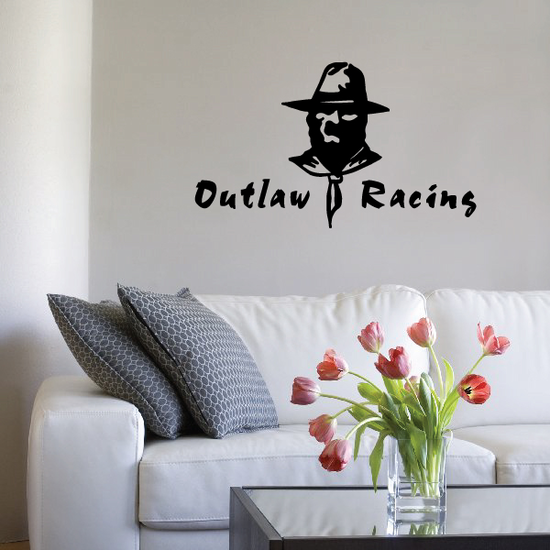 Outlaw Racing Decal