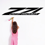 Z 71 Off Road Wall Decal - Vinyl Decal - Car Decal - Business Sign - MC562