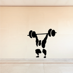 Bodybuilding Illustration Decal