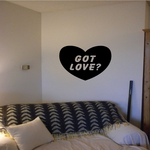 Got Love Heart Decal