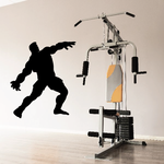 Weightlifting Wall Decal - Vinyl Decal - Car Decal - 001