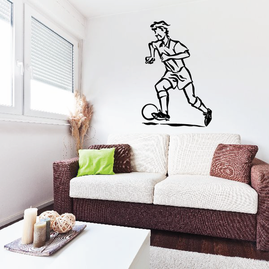 Soccer Wall Decal - Vinyl Decal - Car Decal - Bl058