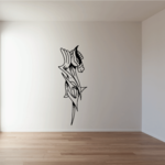 Abstract Graffiti Horse Head Decal
