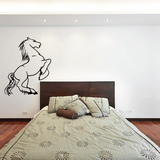 Grand Standing Horse Decal