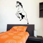Mighty Stallion Standing Hind Legs Decal