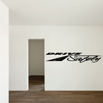 Drive Safely Wall Decal - Vinyl Decal - Car Decal - Business Sign - MC573