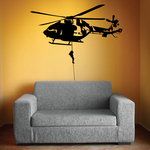 Helicopter Dropline Decal