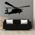 Hovering Apache Helicopter Decal