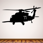 Blackhawk Helicopter Decal