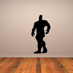 Weightlifting Wall Decal - Vinyl Decal - Car Decal - 016