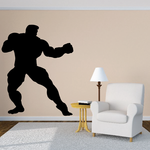 Weightlifting Wall Decal - Vinyl Decal - Car Decal - 019