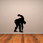 Weightlifting Wall Decal - Vinyl Decal - Car Decal - 021