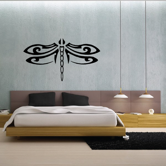 Tribal Dragonfly Decal