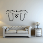 Horse Sling Harness Decal