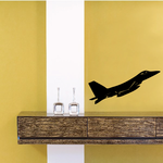 F-16 Fighting Falcon Flying Decal