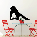 Weightlifting Wall Decal - Vinyl Decal - Car Decal - 026