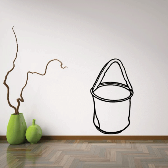 Bucket for Horse Decal