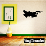 Shaded F-16 Fighting Falcon Decal