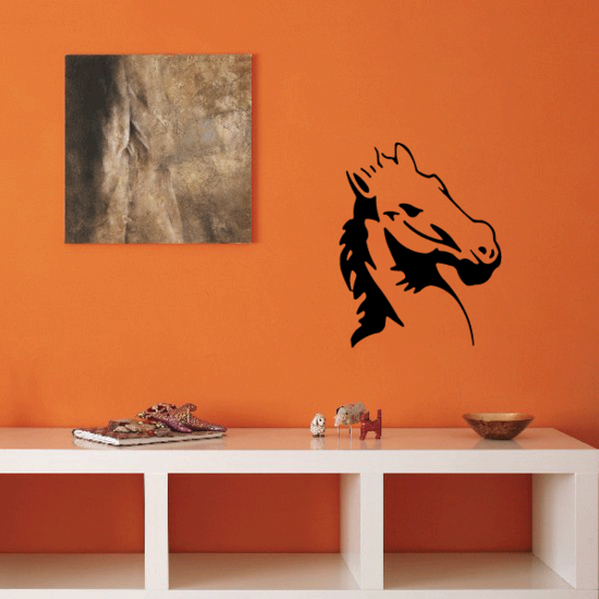Adamant Horse Head Decal